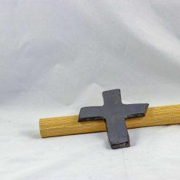 Petra Zobl Keramik - Kreuz bronzit