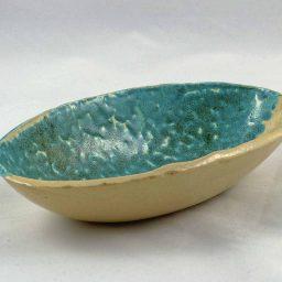 Petra Zobl Keramik - Schale melone transparent 1
